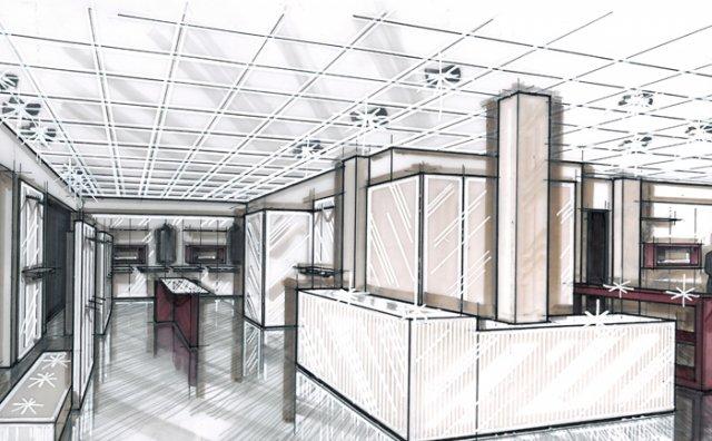 Arredamento negozi arredo uffici bar e ristoranti for Interni e progetti